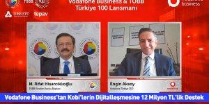 Vodafone Business'tan Kobi'lerin Dijitalleşmesine 12 Milyon TL'lik Destek
