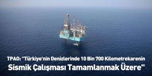 """TPAO: """"Türkiye'nin Denizlerinde 10 Bin 700 Kilometrekarenin Sismik Çalışması Tamamlanmak Üzere"""""""