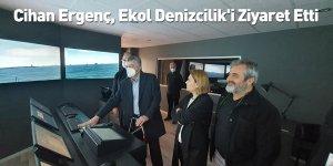 Cihan Ergenç, Ekol Denizcilik'i Ziyaret Etti
