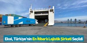 Ekol, Türkiye'nin En İtibarlı Lojistik Şirketi Seçildi
