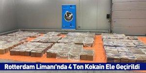 Rotterdam Limanı'nda 4 Ton Kokain Ele Geçirildi