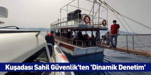 Kuşadası Sahil Güvenlik'ten 'Dinamik Denetim'