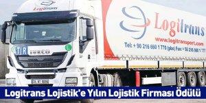 Logitrans Lojistik'e Yılın Lojistik Firması Ödülü