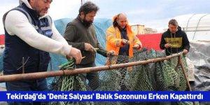 Tekirdağ'da 'Deniz Salyası' Balık Sezonunu Erken Kapattırdı