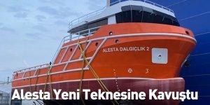 Alesta Yeni Teknesine Kavuştu