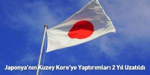 Japonya'nın Kuzey Kore'ye Yaptırımları 2 Yıl Uzatıldı