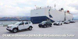 OYAK'ın Otomotiv Odaklı Ro-Ro Limanına İlk Sefer