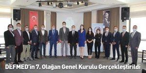 DEFMED'in 7. Olağan Genel Kurulu Gerçekleştirildi