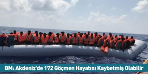 BM: Akdeniz'de 172 Göçmen Hayatını Kaybetmiş Olabilir