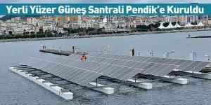 Yerli Yüzer Güneş Santrali Pendik'e Kuruldu