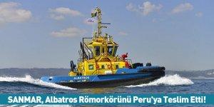 SANMAR Albatros Römorkörünü Peru'ya Teslim Etti!
