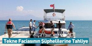 Tekne Faciasının Şüphelilerine Tahliye