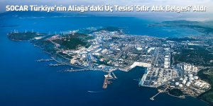 SOCAR Türkiye'nin Aliağa'daki Üç Tesisi 'Sıfır Atık Belgesi' Aldı