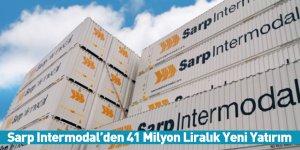 Sarp Intermodal'den 41 Milyon Liralık Yeni Yatırım