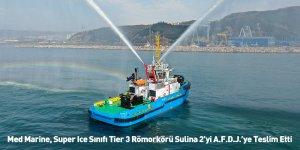 Med Marine, Super Ice Sınıfı Tier 3 Römorkörü Sulina 2'yi A.F.D.J.'ye Teslim Etti