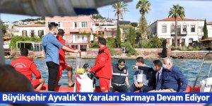 Büyükşehir Ayvalık'ta Yaraları Sarmaya Devam Ediyor