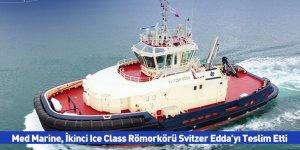 Med Marine, İkinci Ice Class Römorkörü Svitzer Edda'yı Teslim Etti
