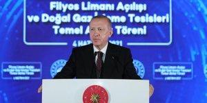 Cumhurbaşkanı Erdoğan: Amasra-1 kuyusunda 135 milyar metreküp doğal gaz keşfettik