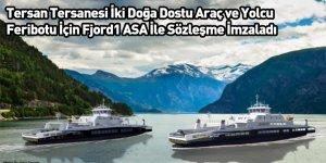 Tersan Tersanesi İki Doğa Dostu Araç ve Yolcu Feribotu İçin Fjord1 ASA İle Sözleşme İmzaladı