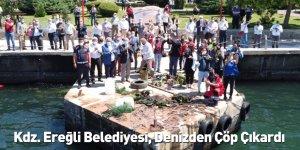 Kdz. Ereğli Belediyesi, Denizden Çöp Çıkardı