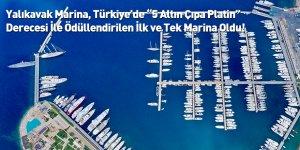 """Yalıkavak Marina, Türkiye'de """"5 Altın Çıpa Platin"""" Derecesi İle Ödüllendirilen İlk ve Tek Marina Oldu!"""