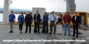 Asyaport Limanı'na Deprem Ve Tsunami Gözlem İstasyonu Kuruldu