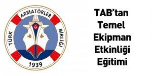 TAB'tan Temel Ekipman Etkinliği Eğitimi