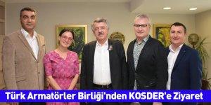 Türk Armatörler Birliği'nden KOSDER'e Ziyaret