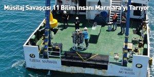 Müsilaj Savaşçısı 11 Bilim İnsanı Marmara'yı Tarıyor