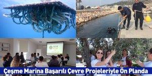 Çeşme Marina Başarılı Çevre Projeleriyle Ön Planda
