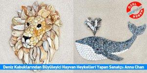 Deniz Kabuklarından Büyüleyici Hayvan Heykelleri Yapan Sanatçı: Anna Chan