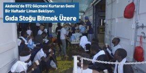 Akdeniz'de 572 Göçmeni Kurtaran Gemi Bir Haftadır Liman Bekliyor: Gıda Stoğu Bitmek Üzere