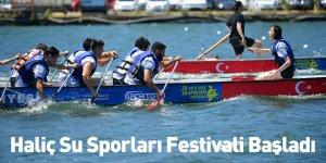 Haliç Su Sporları Festivali Başladı