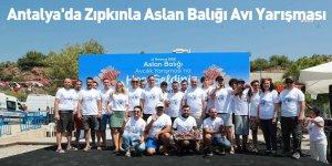 Antalya'da Zıpkınla Aslan Balığı Avı Yarışması