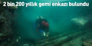 2 bin 200 yıllık gemi enkazı bulundu