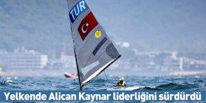 Yelkende Alican Kaynar liderliğini sürdürdü