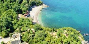 Akçakoca'da plajlardan alınan örnekler temiz çıktı
