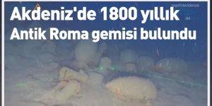 Akdeniz'de 1800 yıllık Antik Roma gemisi bulundu