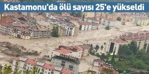 Kastamonu'da ölü sayısı 25'e yükseldi