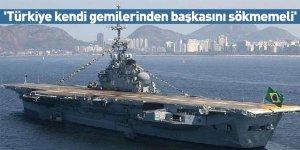 'Türkiye kendi gemilerinden başkasını sökmemeli'