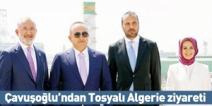 Çavuşoğlu'ndan Tosyalı Algerie ziyareti