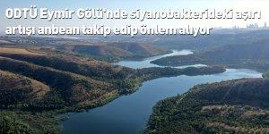 ODTÜ Eymir Gölü'nde siyanobakterideki aşırı artışı anbean takip edip önlem alıyor