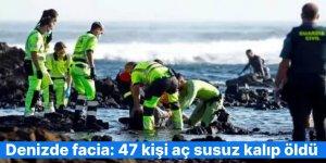 Denizde facia: 47 kişi aç susuz kalıp öldü