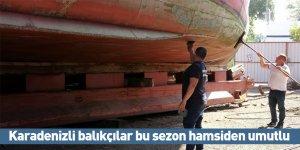 Karadenizli balıkçılar bu sezon hamsiden umutlu