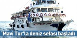 'Mavi Tur'la deniz sefası başladı
