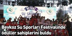 Beykoz Su Sporları Festivalinde ödüller sahiplerini buldu