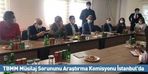 TBMM Müsilaj Sorununu Araştırma Komisyonu İstanbul'da