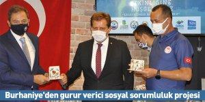 Burhaniye'den gurur verici sosyal sorumluluk projesi