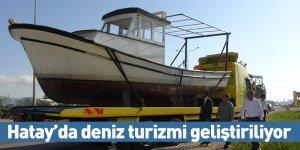 Hatay'da deniz turizmi geliştiriliyor