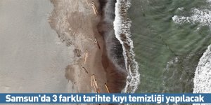 Samsun'da 3 farklı tarihte kıyı temizliği yapılacak